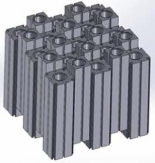 Latina Reactor Core design